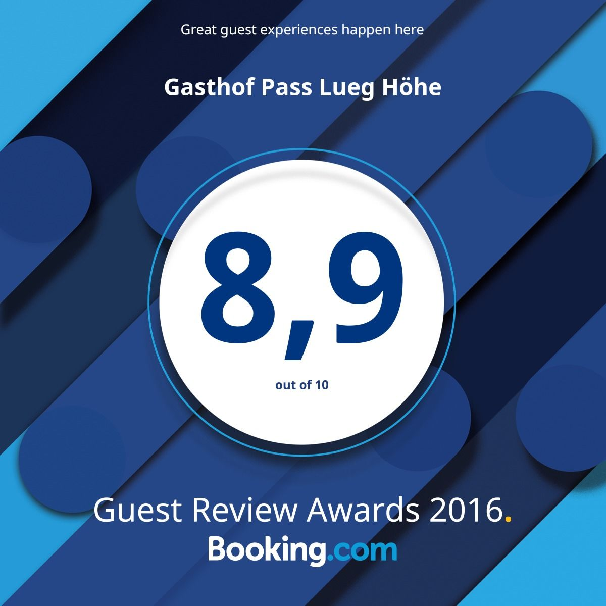 Booking Pass Lueg