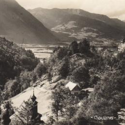 Haus Pass Lueg & Kapelle Maria Bruneck 1920